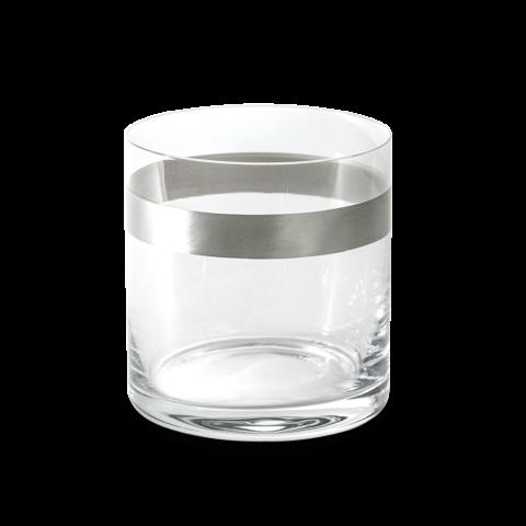 bicchieri in vetro e argento dogale