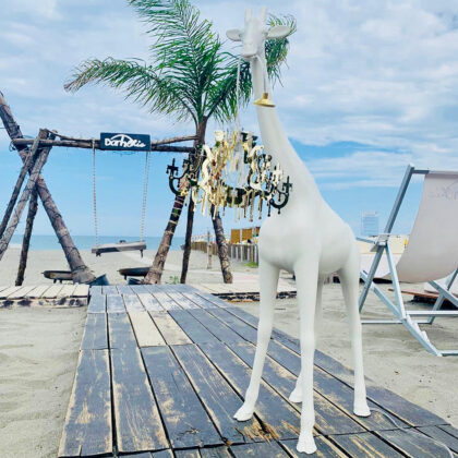 lampadario giraffa marcantonio