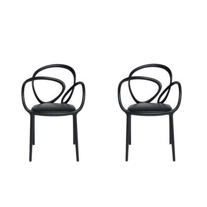 sedia con cuscino loop