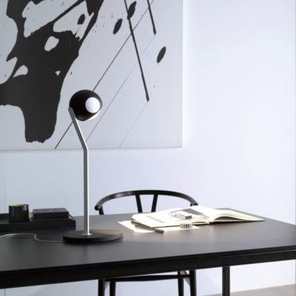 lampada da tavolo lampada da scrivania con testa tonda di design