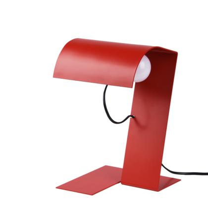 lampada da tavolo Blitz 1969 codice icona colore rosso