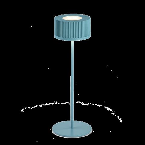 lampada da scrivania turchese