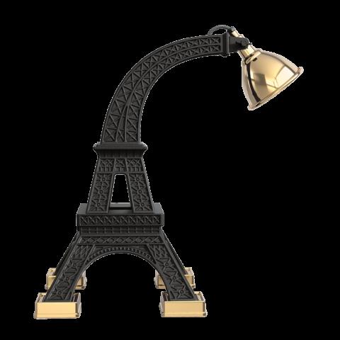 Lampada torre Eiffel nera
