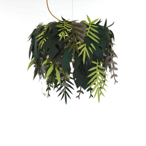 lampada foglie design