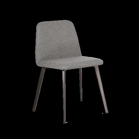 sedia grigia