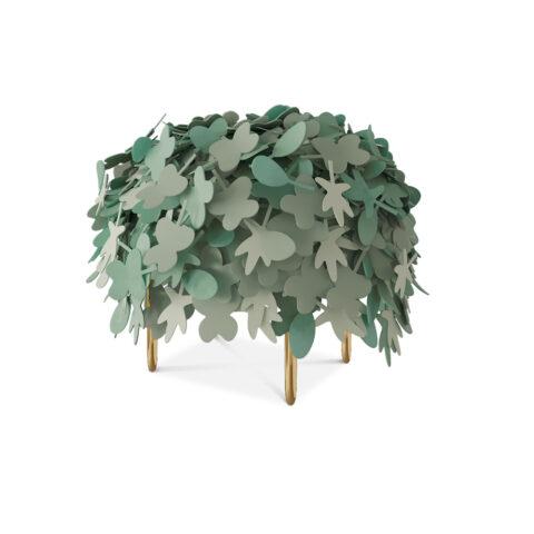pouf foglie marcantonio