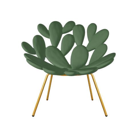 sedia fico d'india verde