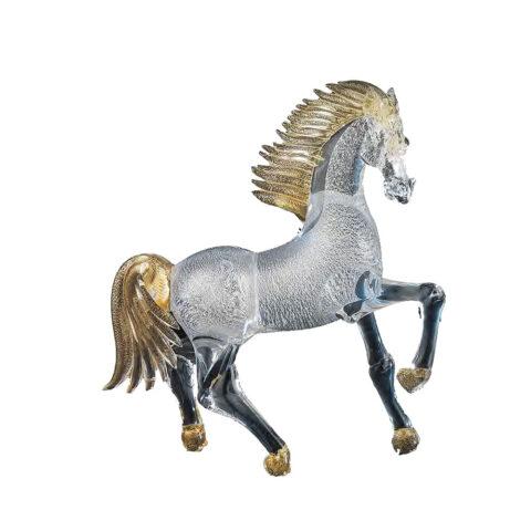 Horse murano glass